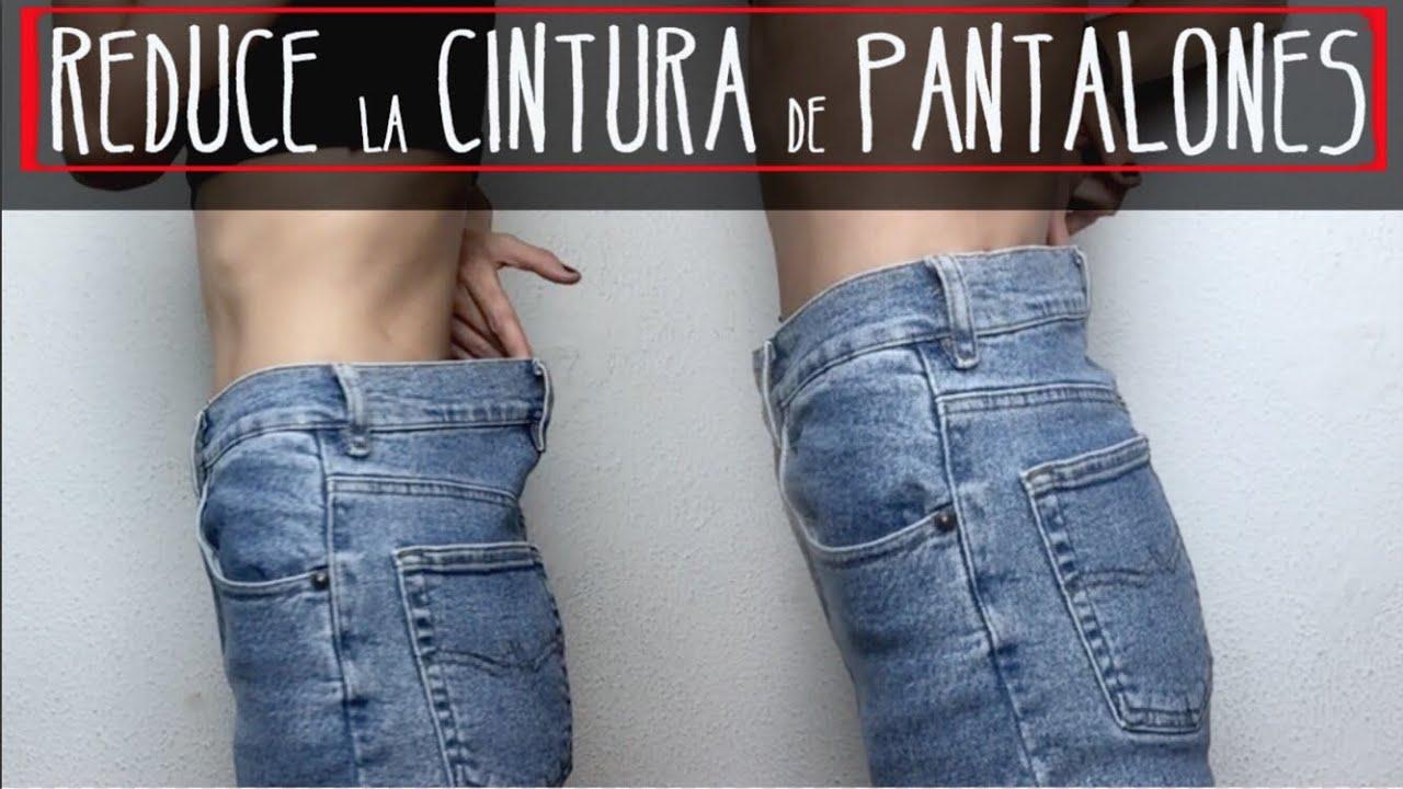 Estrecha La Cintura De Tu Pantalon Sin Maquina De Coser Youtube