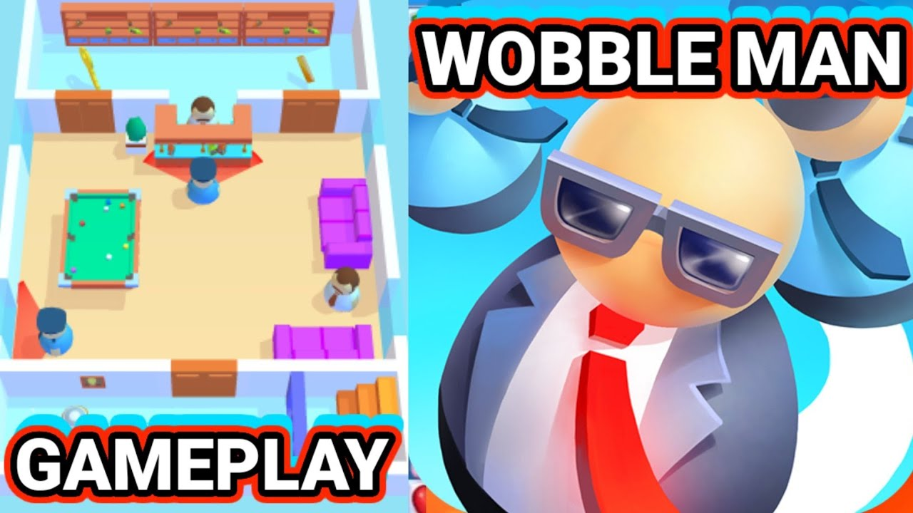 GAME, Wobble Man Gameplay