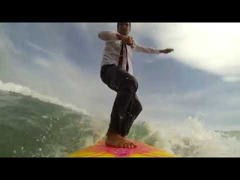 Businessman successfully surfing - digital marketing services for business