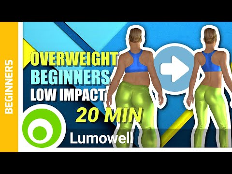 Overweight Beginner Low Impact Workout | Burn 250 Cals In 20 Mins At Home