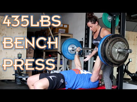 435lbs on Bench Press | Furious Pete