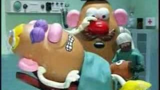 potato heads having a baby