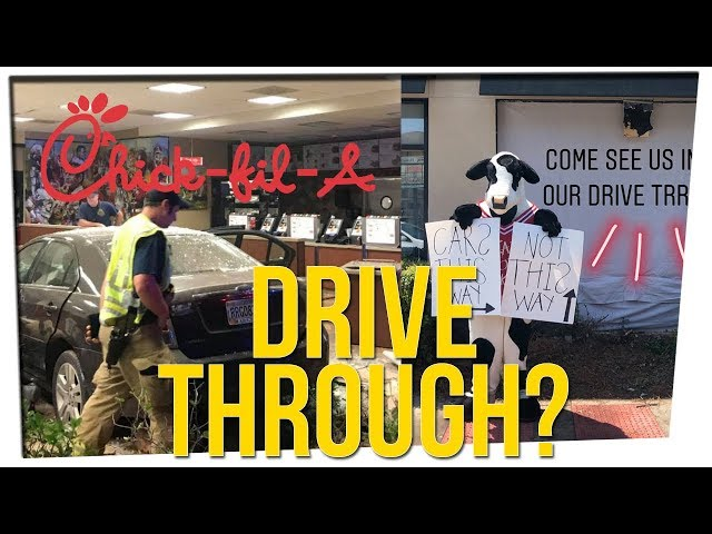 Chick-fil-A's Cute Response to Car Crashing Into Restaurant (ft. Ryanimay)