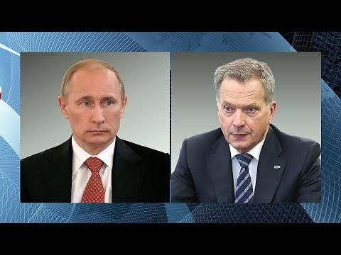 Ситуацию с коронавирусом Владимир Путин по телефону обсудил с президентом Финляндии Саули Ниинисте.