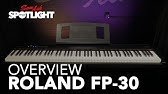 Fp 30 Quick Start 02 Select A Sound Youtube