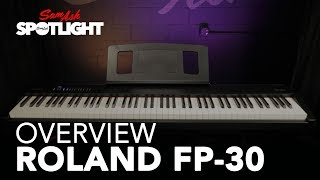 Roland FP-30 Digital Piano | Overview