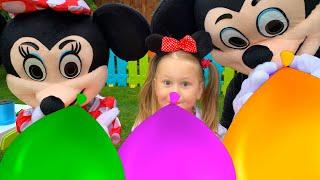 Balloon Song - Nursery Rhymes & Kids Songs with Eva