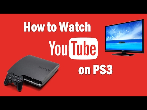 How to Watch YouTube HD videos on PS3 ( YOUTUBE PKG NO PSN ) 2016/2017