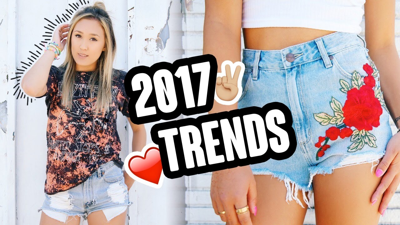 TRENDY CLOTHES YOU CAN DIY 2017