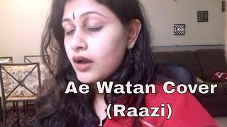 Ae watan || Movie Raazi || Sunidhi Chauhan, Arijit Singh || Shankar-Ehsaan-Loy || Alia Bhat
