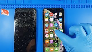 iPhone XS Max Ekran Değişimi RUSÇA SESLİ ANLATIMLI #Özel İstek
