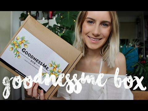 Goodness Me Box   Unboxing & Review