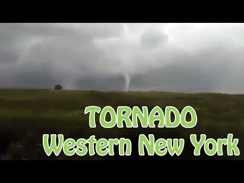 Tornado's and Funnel Clouds Across The South Towns of Buffalo and WNY