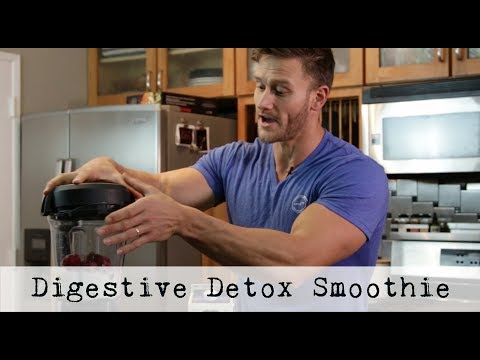 Detox Drink: Easy 5 Ingredient Smoothie (Digestion Booster): Thomas DeLauer