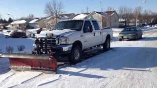 7.3L Powerstroke Cold Start -38 Degrees Unplugged