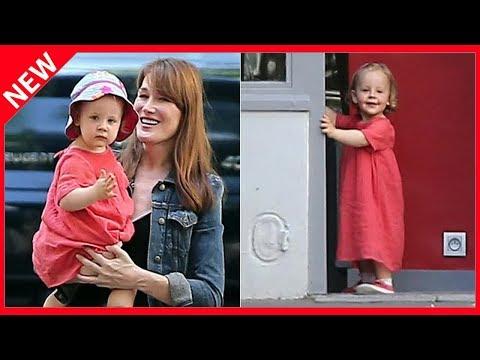 ✅ Carla Bruni gâtée par sa fille Giulia pour la fête des mères