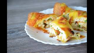 КАРТОФЕЛЬНЫЙ РУЛЕТ Яйцо сыр и картошка Обалденный рецепт