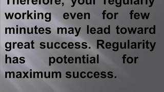 Success Depends on Regularity, perfectness and Involvement