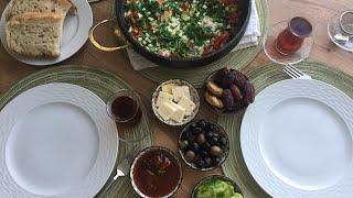 Легкий, быстрый, яркий и вкусный завтрак по-турецки!