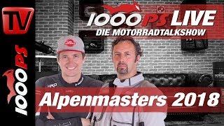 1000PS Live - Die Motorradtalkshow - der größte Vergleichstest - MOTORRAD Alpenmasters