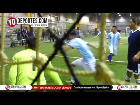 Cuchumatanes vs. Sprovieris United Soccer League