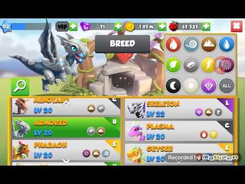 "Dragon Mania Legends ""How To Breed Machine Dragon"""