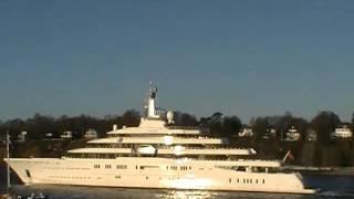 Yacht  Eclipse  Hamburg   Superyacht Roman Abramovich
