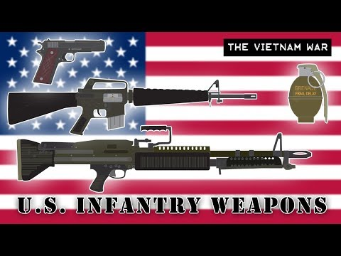 U.S. Infantry Weapons (Vietnam War)