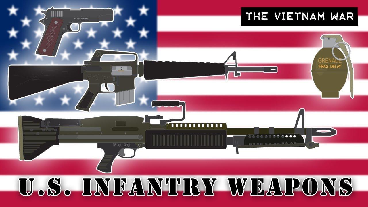 U S  Infantry Weapons (Vietnam War)