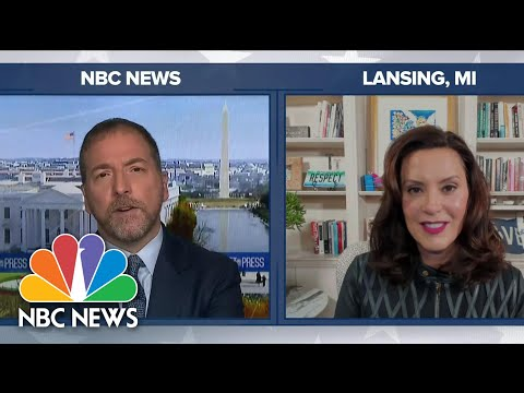 Whitmer: Days After Kidnapping Plot Revealed, Trump 'At It Again' | Meet The Press | NBC News