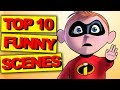 Top 10 Funny Scenes in LEGO THE INCREDIBLES