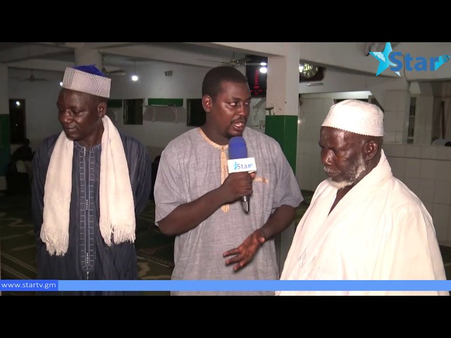 Pa Ndarry Delivers Qurans to Madarasa  Imam Ebrima Senghore at Bundung