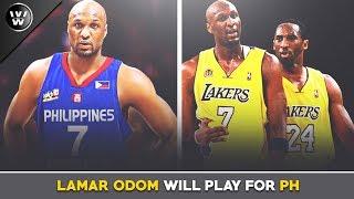 Lamar Odom, Maglalaro para sa Pilipinas | Mighty Sports Philippines