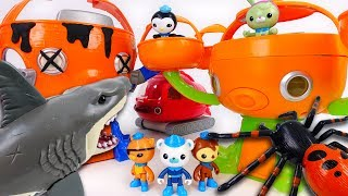 octopod is destroyed by shark attack octonauts let s move to new octopod