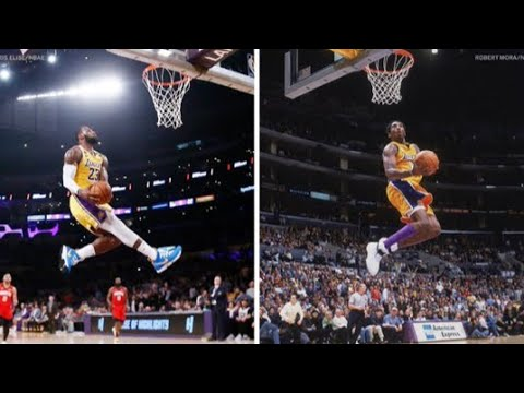 Lebron James Tribute to Kobe Bryant