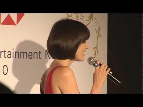 Singapore Emcee Junita Simon host HSBC India Investor Entertainment  Night_Artiste Entertainment
