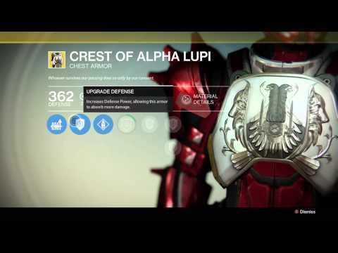 Destiny: Crest Of Alpha Lupi
