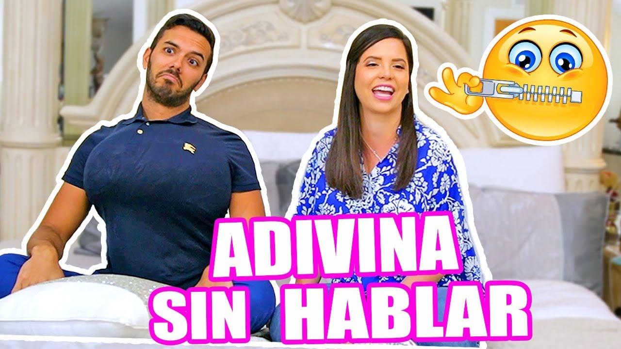 MI NOVIO SE PONE SENOS ! ADIVINA SIN HABLAR - PINTAMONOS - El Mundo de Camila Guiribitey