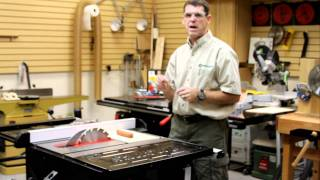 Sawstop Demo at the Nashville Woodcraft Store