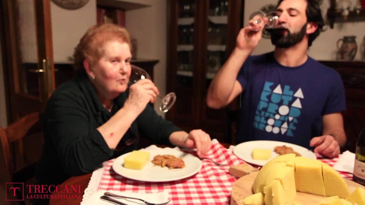 Nonne d italia in cucina polenta con salame cipolle e - Nonne in cucina ...