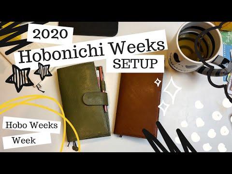Hobonichi Weeks 2020 Personal Planner SETUP: Gillio Or Galen Leather? - Hobonichi Weeks Week DAY 7!