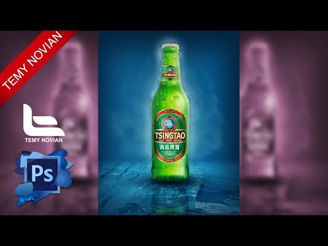 Create drink Promotion Flyer Photoshop Tutorial