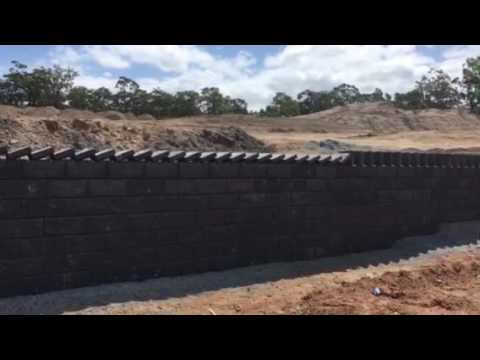 Thumbnail: How to build a retaining wall with style, Domino style!!!