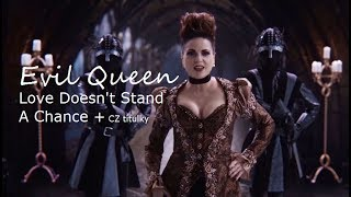 OUAT 6x20 Evil Queen sing ''Love Doesn't Stand A Chance'' +  CZ titulky HD