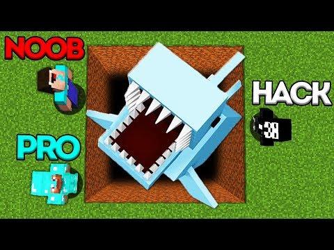 Minecraft Battle: NOOB vs PRO vs HACKER: SUPER HIDDEN TRAP CHALLENGE in Minecraft Animation