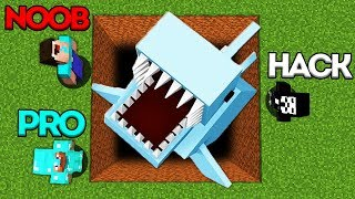 Minecraft Battle: NOOB vs PRO vs HACKER: SUPER HIDDEN TRAP CHALLENGE in Minecraft Animation