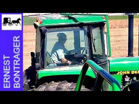 Amish Girl Farm Hand Likes John Deere Farming
