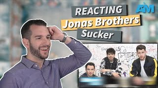 VOCAL COACH reacts to JONAS BROTHERS singing SUCKER!