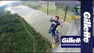 Antitranspirante Gillette e Guinness World Records®: Batendo Recordes e o Mau Cheiro