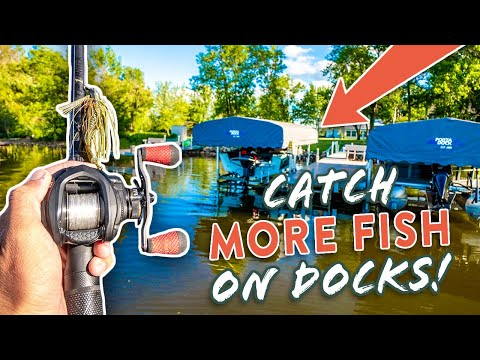 Dock Fishing Tips: Bass Fishing Technique To Catch MORE Fish!